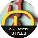 3D Layer Styles Bundle-Graphicriver中文最全的素材分享平台