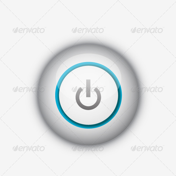 GraphicRiver Vector power button 930199