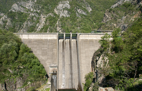 Dam - Stock Photo - Images