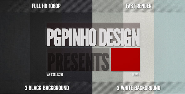 [VideoHive 931316] Intro Design | After Effects Project