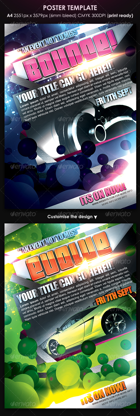 GraphicRiver Poster Template 117815