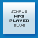 Metalic &amp;amp; Blue XML MP3 Player - ActiveDen Item for Sale