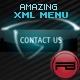 Amazing XML horizontal/vertical menu ( 3D buttons ) - ActiveDen Item for Sale
