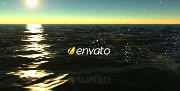 After Effects Project - VideoHive Ocean Logo Transition 116715