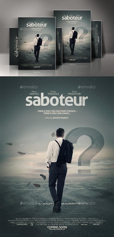 Free photoshop movie poster templates