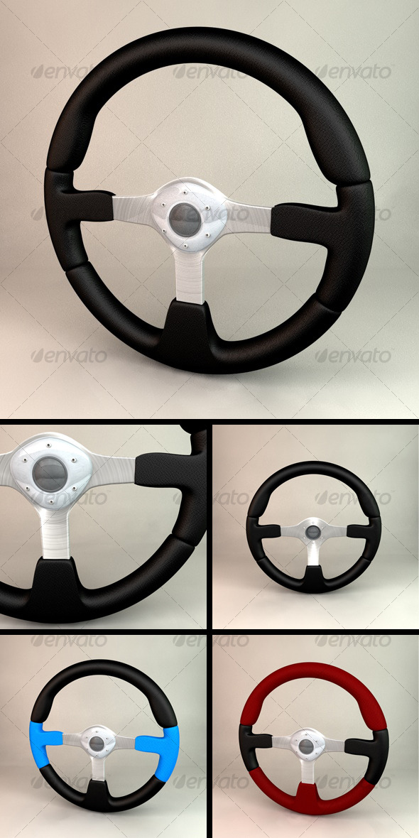 3DOcean Steering Wheel 118455
