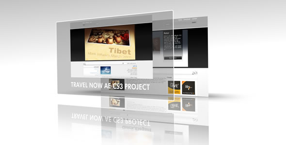 After Effects Project - VideoHive mysite.com CS4 Project file 78632
