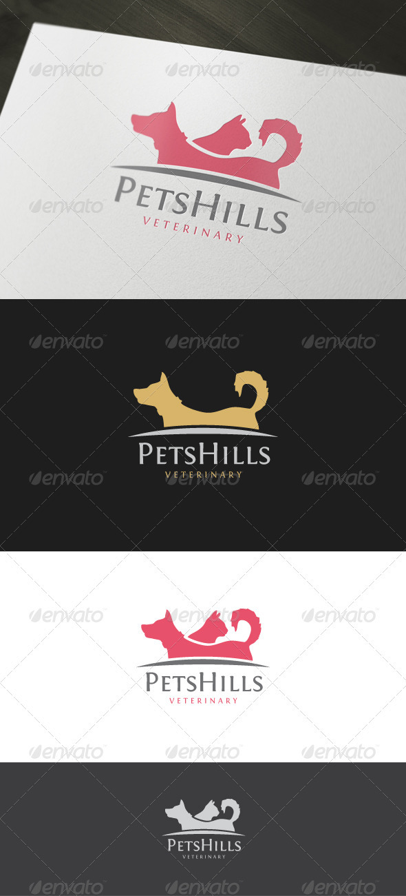 Veterinary Logo - Animals Logo Templates