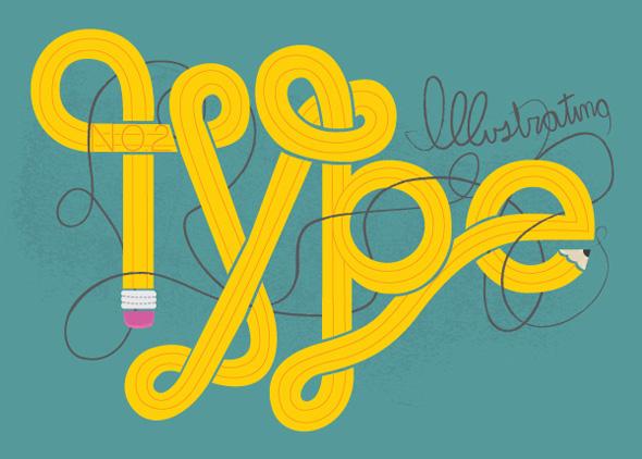 TutsPlus Create Illustrated Type from Sketch to Vector 118677