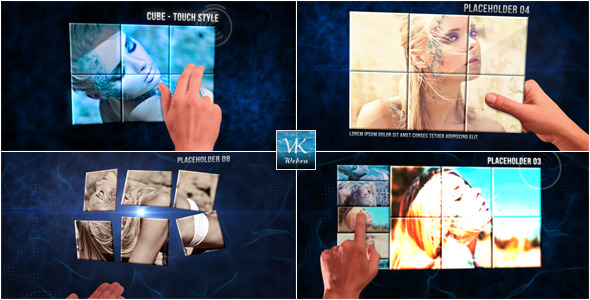 After Effects Project - VideoHive Cube Touch Style 941104