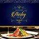 Elegant Restaurant Menu Fly-Graphicriver中文最全的素材分享平台