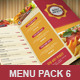 Food Menu Pack 6 餐厅广告设-Graphicriver中文最全的素材分享平台