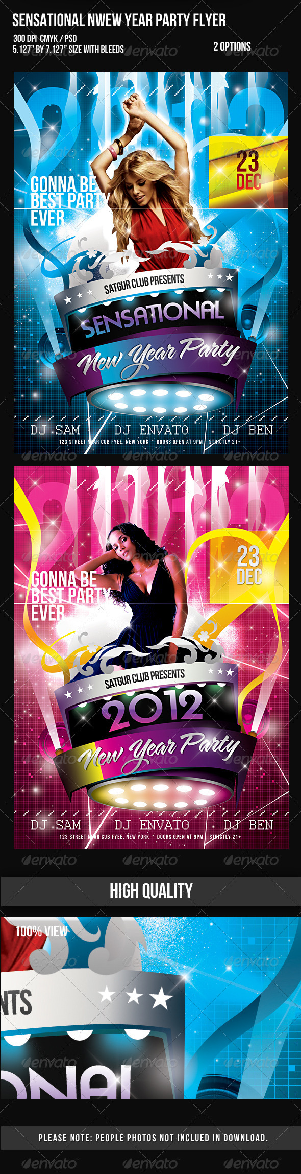 GraphicRiver 2012 Sensational New Year Dance Music Party Night 942050