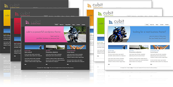 Cubit 6 in 1- Business &amp; Portfolio Theme