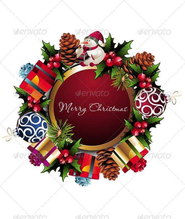 Graphic River Christmas Card Vectors -  Conceptual  Seasons/Holidays  Christmas 942870