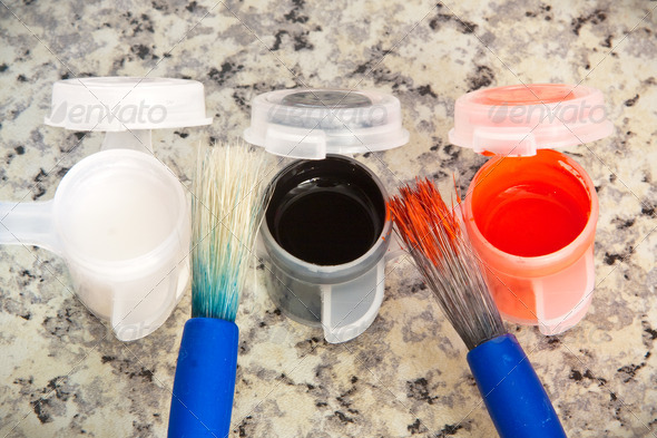 Paint brushes - Stock Photo - Images