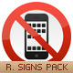 Restriction Signs Pack - GraphicRiver Item for Sale