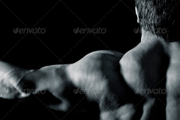 PhotoDune bodybuilding man 943110