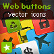 Web Buttons Collection with Resizable Vector Icons - GraphicRiver Item for Sale