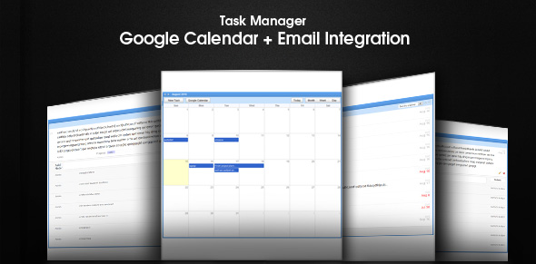 Task Manager - Google Calendar + Email Integration