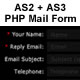 AS2 + AS3 PHP EMail / Contact Form - ActiveDen Item for Sale