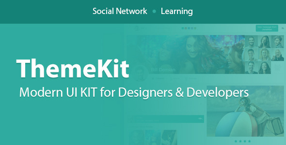 ThemeKit - Modern UI Kits for Apps & Websites - Admin Templates Site Templates