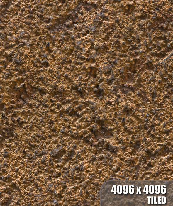 Tiled Gold Stucco - 3DOcean Item for Sale