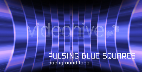 BACKGROUND PULSING BLUE SQUARES HD VideoHive Motion Graphic  Backgrounds  Technology 120011