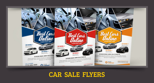 for sale flyer – Car Flyers