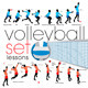 Volleyball Exercises Set  - GraphicRiver Item for Sale