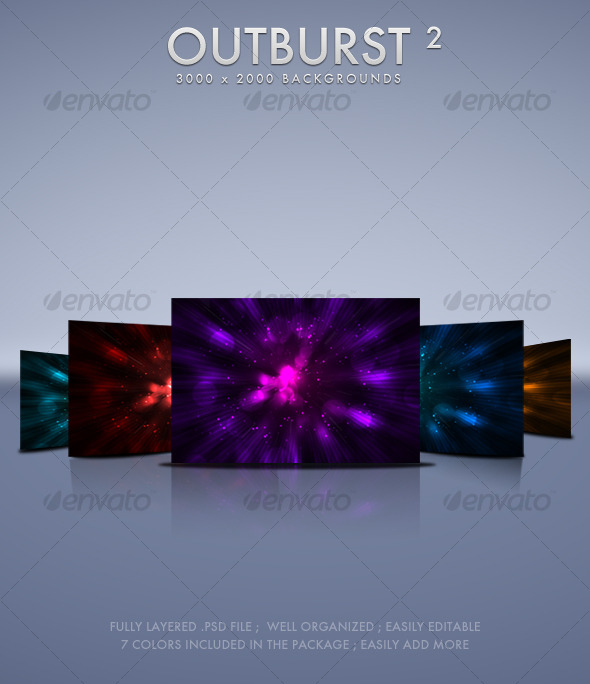 Outburst 2 Backgrounds - Backgrounds Graphics