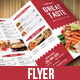 Restaurant Food Menu-Graphicriver中文最全的素材分享平台