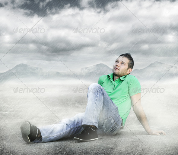 Hoping for more - Stock Photo - Images