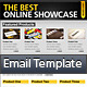 Simple &amp;amp; Clean HTML Email Template - ThemeForest Item for Sale