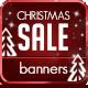Christmas Sale Banner Set v-Graphicriver中文最全的素材分享平台