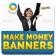 Make Money Banners-Graphicriver中文最全的素材分享平台