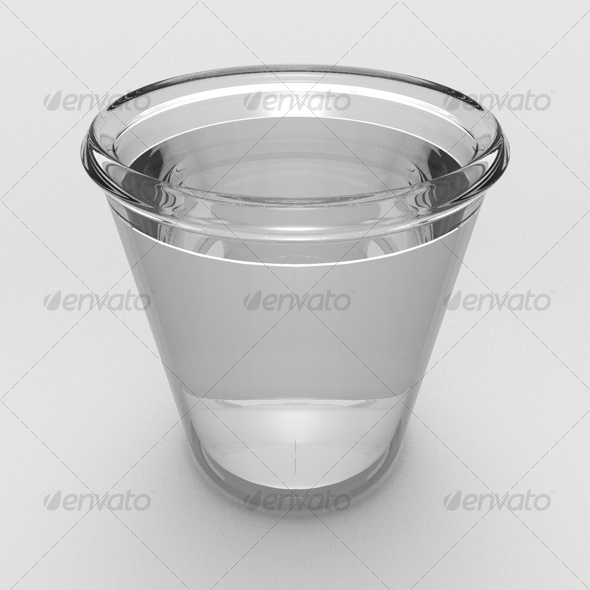 3DOcean glass water 3D Models -  Food and drinks 119927