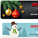 Christmas Web Banners-Graphicriver中文最全的素材分享平台