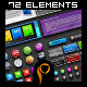 Big Web 2.0 Elements v3 Banners, Sliders, buttons - GraphicRiver Item for Sale