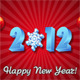 New Year&amp;#x27;s Greeting Card 2012 - ActiveDen Item for Sale