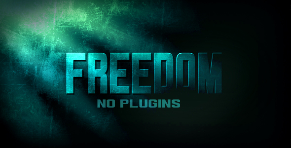 After Effects Project - VideoHive Freedom 121560
