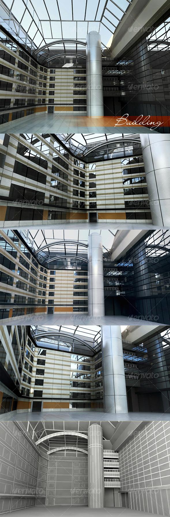 3DOcean Building 121936