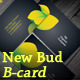 New Bud B-Card - GraphicRiver Item for Sale