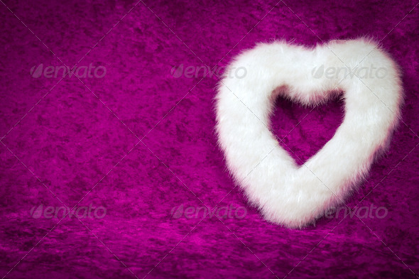 White Heart - Stock Photo - Images