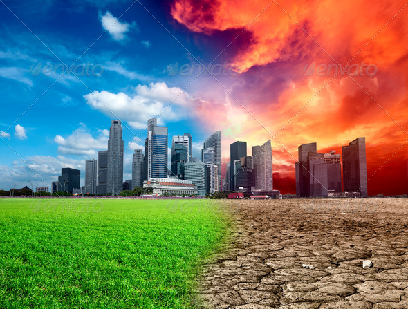 Global warming - Stock Photo - Images