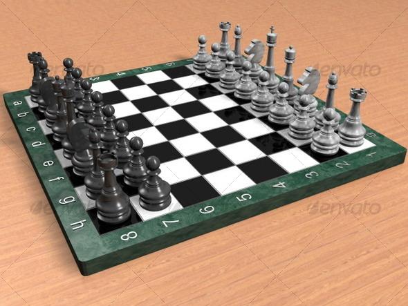 3DOcean Chess 122213