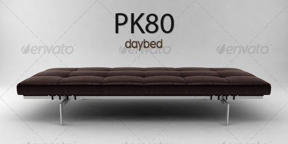 3DOcean PK80 daybed 122530
