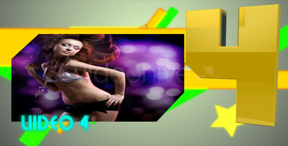 After Effects Project - VideoHive Top 5 Ranking 122717