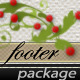 Vintage Footer Package ~8 Psd + ~60 Pattern - GraphicRiver Item for Sale