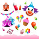 Carnival & Funfair Elements - GraphicRiver Item for Sale